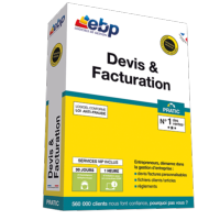 EBP Devis et Facturation Pratic 2018 + Services VIP